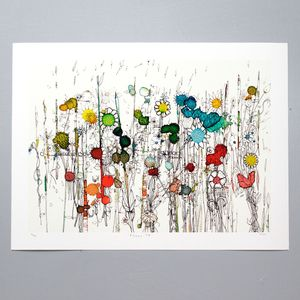 Flowers 74 Art Print - art by subject