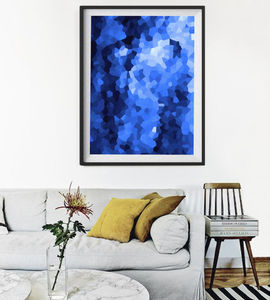 Abstract Geometric, Framed Art - art & pictures