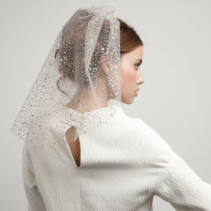 Glitter Veil - hats, hairpieces & hair clips