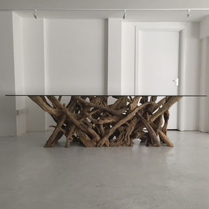 Driftwood Dining Table - furniture