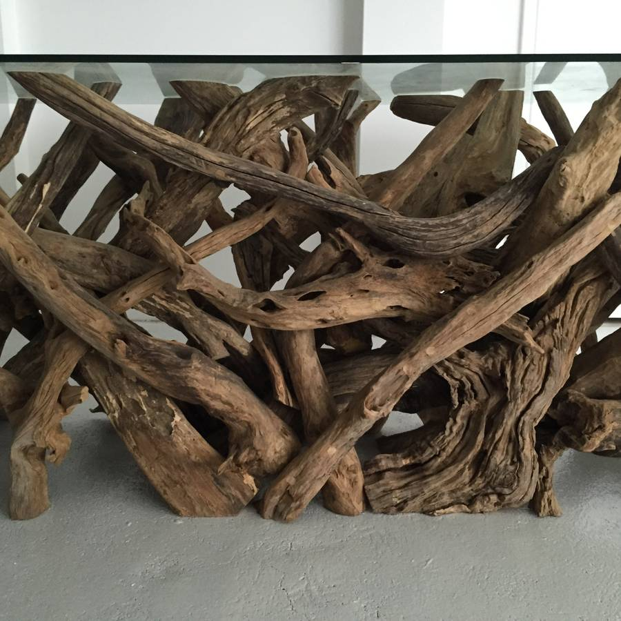 Driftwood Dining Table By Doris Brixham