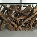 Large Natural Driftwood Rectangular Dining Table Base