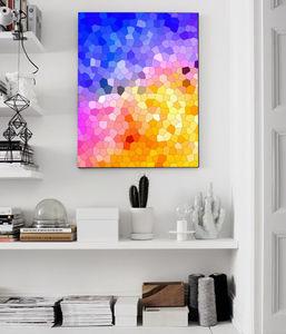 Geometric Autumn, Canvas Art - modern & abstract