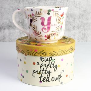 'Ampersand' You Me And A Cup Of Tea Teacup