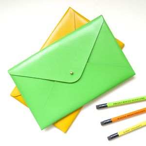 Personalised Small Leather Folder - purses & wallets
