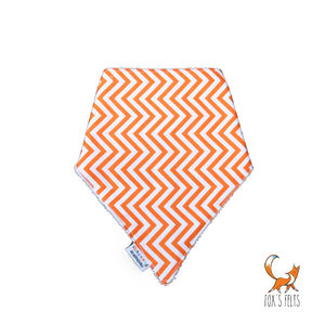Chevron Dribble Bib - baby care