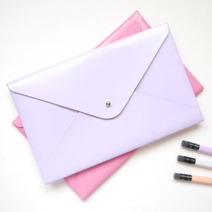 Pastel Coloured Small Leather Folder - travel wallets