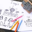 Children's Art Stamp