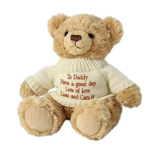 Personalised Teddy Bears And Gift Bag
