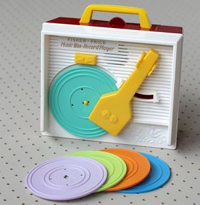 Fisher Price Classic Music Record Player - traditional toys & games