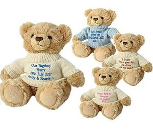 Personalised Bridesmaid Page Boy Teddy Bear - wedding thank you gifts