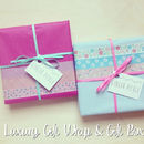Luxury Gift Wrap & Gift Box