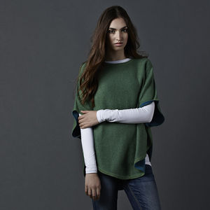 Reversible Poncho Brights - jumpers & cardigans