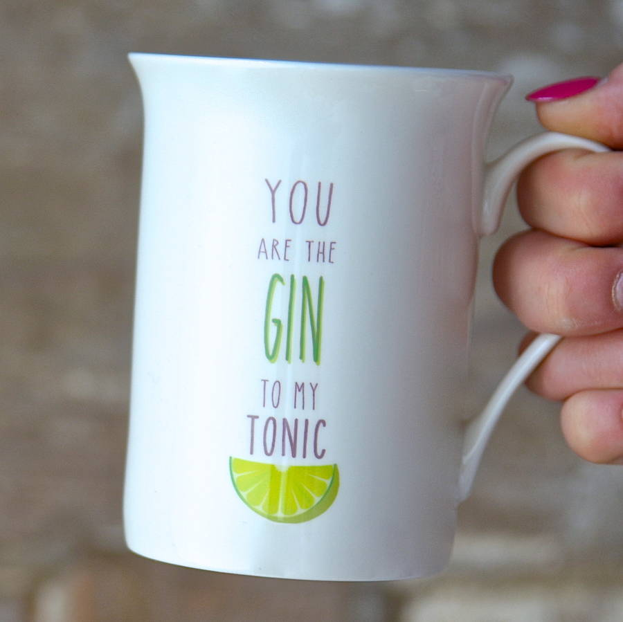 69ce71ca111 you are the gin mug gift by the letteroom | notonthehighstreet.com