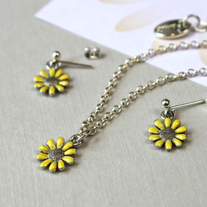 Bridesmaid Yellow Flower Gift Set - be my bridesmaid?
