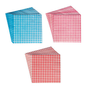 Picnic Party Gingham Paper Napkins