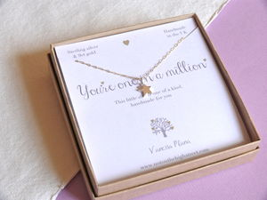 One In A Million Star Necklace - necklaces & pendants