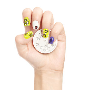Lovey Dovey Nail Art Stamp - cool nails