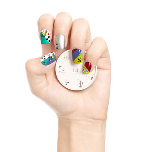 Surrealady Nail Art Stamp - cool nails
