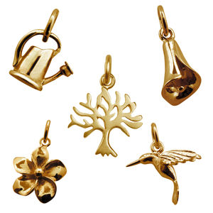 Gold Charm Collection - charm jewellery