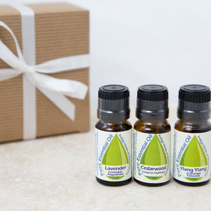 Bath Tub Essential Oil Trio - bath & body sets