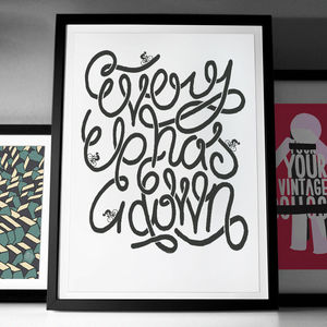 'Every Up Has A Down' Fine Art Giclée Print - best of contemporary art