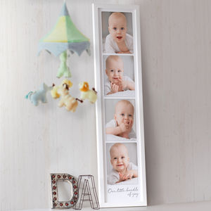 Personalised New Baby Giant Photo Booth Print - posters & prints for children