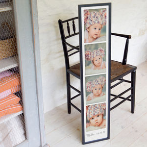 Personalised New Baby Giant Photo Booth Print