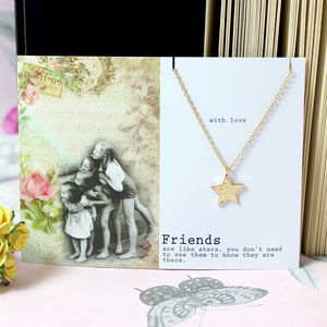 Friends Star Necklace - more
