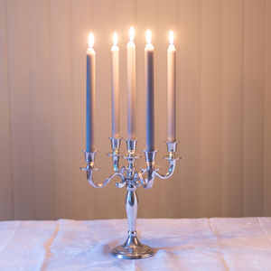 Classic 30cm Antique Style Candelabra - candles & home fragrance
