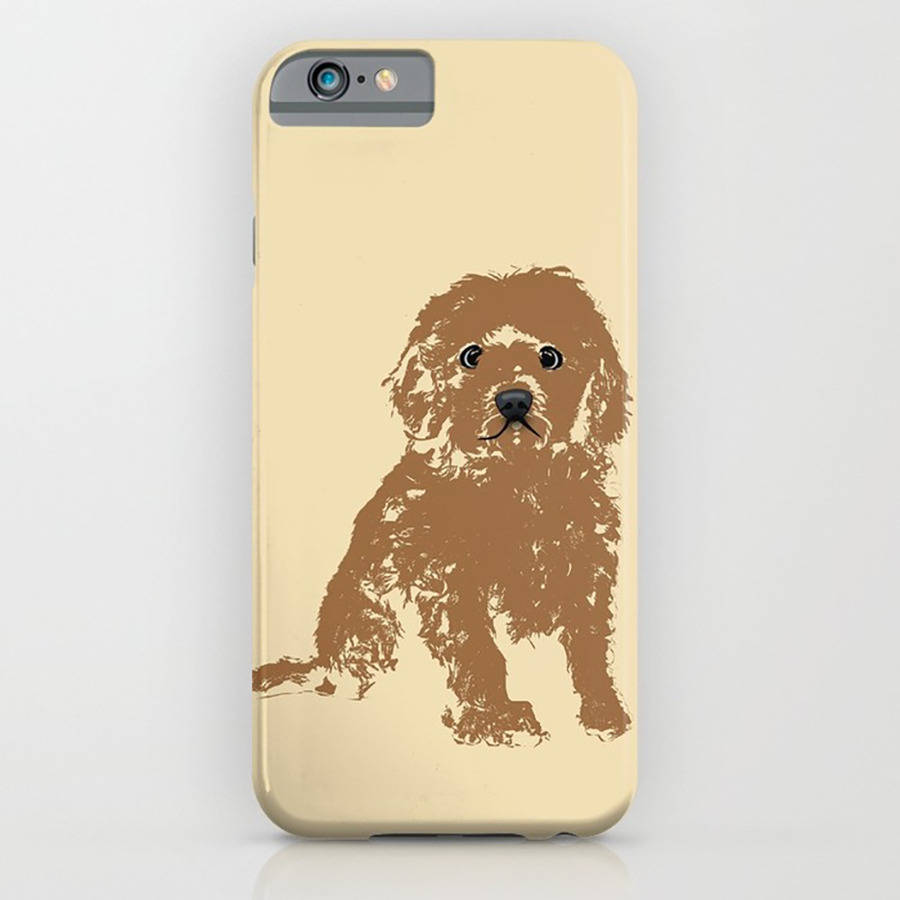 sports shoes 1cb4e 65614 Cockapoo Dog On Phone Case