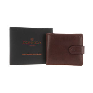 Gift Boxed Handcrafted Brown Leather 'Theo' Wallet - wallets