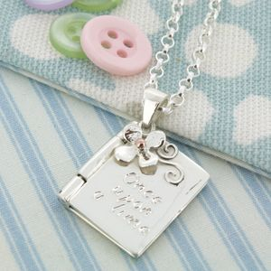 Personalised Christening Or Child's Locket - christening jewellery