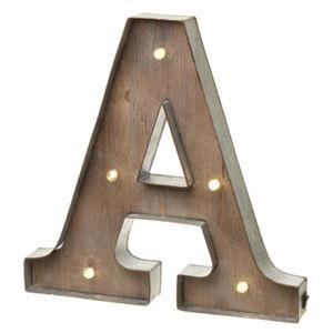 Alphabet Letter LED Light A