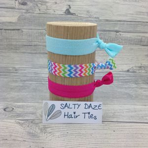 Handmade Hair Ties And Pony Tail Bands Carnival