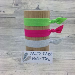 Handmade Hair Ties And Pony Tail Bands Tulip