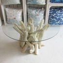 Round Driftwood Coffee Table 40cm High