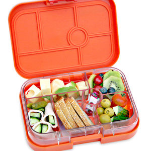 Yumbox In Zucca Orange. The Leakproof Bento Lunchbox
