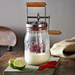 Kilner Butter Churner - baking