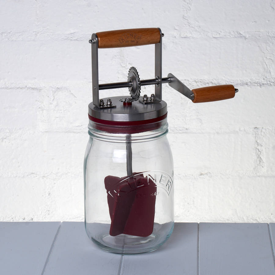 Kilner Butter Churner By Whisk Hampers
