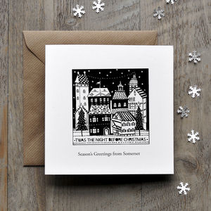 'Twas The Night Before Christmas Personalised Card