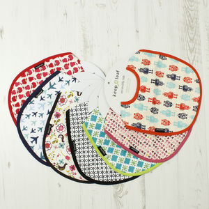 Organic Cotton Baby And Toddler Bibs