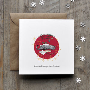 Cats Purrfect Personalised Christmas Card - cards