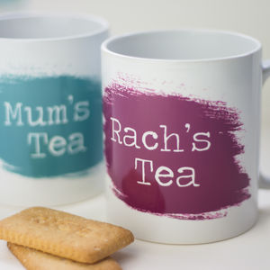 Personalised Name Mug - kitchen