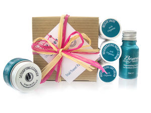 Trial Travel Pack - organic pampering sets