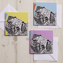 Pug Love Greeting Card Collection