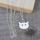 Sterling Silver Little Cat Necklace