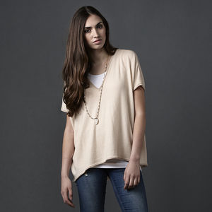 Merino V Neck Jumper - women's fashion