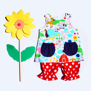 Baby Girl Dress Set