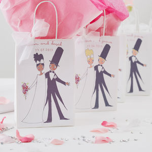 Bomboniere Personalised Wedding Favour Bags